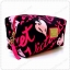 &#x2764️ VS Signature Print Hot Pink with Black Cosmetic Pouch thumbnail 2