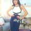 Lady Ribbon Elegant Minimal Chic Style Cut-Out Jumpsuit thumbnail 4