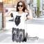 IceVanilla Owl 3D Lace Stitching Dress thumbnail 1