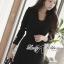 Lady Ribbon Smart Casual Wrap Suit Dress thumbnail 1
