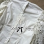 Lady Ribbon เสื้อผ้าคอตตอนตัดต่อผ้าลูกไม้ช่วงแขน สีขาว สีดำ thumbnail 12