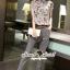 Seoul Secret ชุดเซ็ทเสื้อกางเกงเข็มขัด thumbnail 1