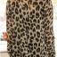 Animal Print Fashion เสื้อเชิ้ตผ้าชีฟอง พิมพ์ลาย Leopard thumbnail 7