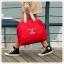 Colorful Duffel Bags กระเป๋าเดินทางพับได้ thumbnail 9