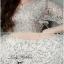 Lady Ribbon Glitter Lace Dress เดรสแขนสั้นผ้าลูกไม้ผสมกลิตเตอร์ thumbnail 8