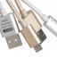 สายชาร์จแบบถักอย่างดี Micro USB สำหรับมือถือสมาร์ทโฟนทั่วไป ยี่ห้อ GOLF thumbnail 1