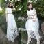 Lady Ribbon Dress เดรสผ้าลูกไม้สไตล์คลาสสิควินเทจ thumbnail 3