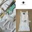 Lady Ribbon Dress Set ชุดเซ็ทเดรสปักเลื่อม พร้อมเข็มขัด thumbnail 9