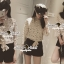 Seoul Secret Creaming Flora Lace Bow Blouse thumbnail 5