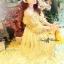 Lady Ribbon Vintage Fabulous Chiffon Off-shoulder Maxi thumbnail 5