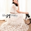 Lady Ribbon Dress เดรสผ้าลูกไม้สไตล์คลาสสิควินเทจ thumbnail 4