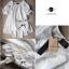 Lady Ribbon มินิเดรสผ้าลูกไม้สีขาว ฉลุลาย น่ารักหวานใส thumbnail 12