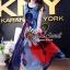 Seoul Secret Silky DKNY Maxi Dress thumbnail 3