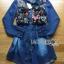 Lady Ribbon Dress เชิ้ตเดรสผ้าเดนิม thumbnail 6