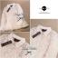 Lady Ribbon เสื้อผ้าแก้วทรงเชิ้ต ปักดอกไม้ สีขาว / สีดำ thumbnail 14