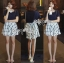 Lady Ribbon T-Shirt and Checked Skirt Set thumbnail 5