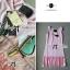 Lady Ribbon Dress Set ชุดเซ็ทเดรสปักเลื่อม พร้อมเข็มขัด thumbnail 8