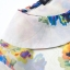ZARA เสื้อ คอปกบัว ผ้าพิมพ์ลายดอก สีสดใส S,M,L thumbnail 9