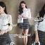 Seoul Secret Blouse เสื้อลูกไม้แขนยาว thumbnail 2