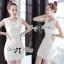 Lady Ribbon Lace Dress เดรสแขนกุดผ้าลูกไม้สุดหรู thumbnail 4