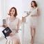 Cliona Romantic White Lace Dress เดรสลูกไม้สีขาว thumbnail 6
