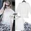 Odee Cutie ชุดเซ็ทเสื้อชีฟอง กระโปรงสั้นสไตล์ Zara thumbnail 2