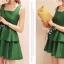 Partysu Layer Trim Dress เดรสแขนกุดกระโปรงระบายเป็นชั้นๆ thumbnail 5