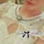 Luxury Lace Dress เดรสผ้าลูกไม้ ทรงคอปิด แต่งเพชรและมุก thumbnail 4