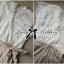 Lady Ribbon จั๊มสูทขายาว ตัดต่อผ้าลูกไม้ พร้อมโบว์สีทอง thumbnail 13