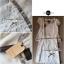 Lady Ribbon มินิเดรสผ้าชีฟองประดับเลื่อม กระโปรงผ้าลูกไม้ สีขาว สีดำ thumbnail 14