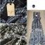 Lady Ribbon Maxi Dress เดรสยาวแขนกุด ผ้าชีฟองพิมพ์ลายผสม thumbnail 9