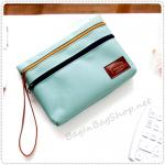 Bank Pouch - Blue Mint