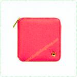 Zipper Wallet - Hot Pink