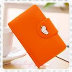 Jam Card Wallet - Orange