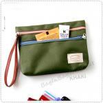 Bank Pouch - Green