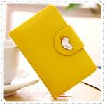 Jam Card Wallet - Yellow