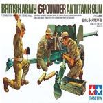 TA35005 BRITISH ARMY 6POUNDER ANTI-TANK 1/35
