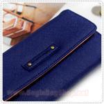 Tri Folding Wallet - Navy