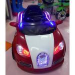 รถเด็กนั่งแบตเตอรี่บูกาติ 2 มอเตอร์ สีแดง