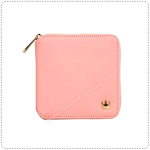 Zipper Wallet - Cotton Pink