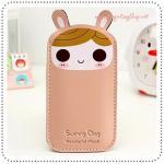 ซองหนังใส่ IPhone - Pink