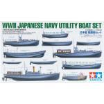 TA78026 1/350 Japanese Navy Utility Boat Set