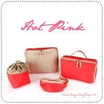 BAG in BAG Set 4 - Hot Pink
