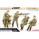 DRA6193 German Halftrack Crewmen 1/35