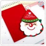 Santa Hat Card - A