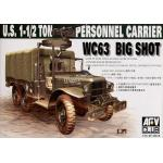 35S18 WC63 1-1/2T 6x6 PERSONELL CARRIER 1/35