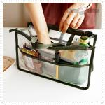 Clear dual bag in bag - Green