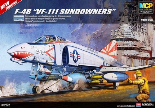 AC12232 F-4B VF-111 SUNDOWNERS 1/48