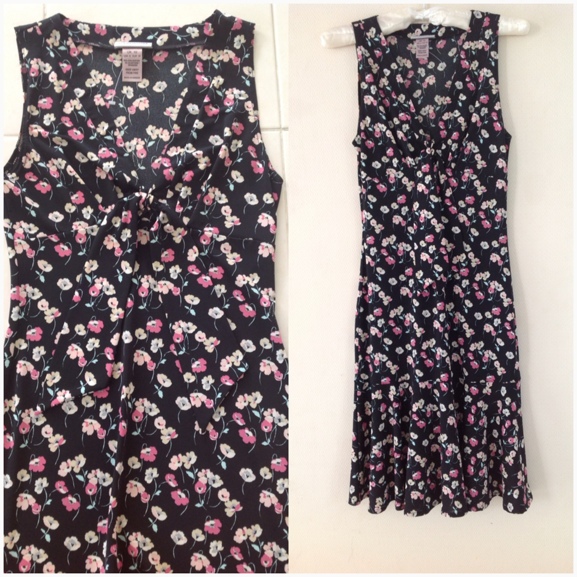 Warehouse Floral Dress size UK10