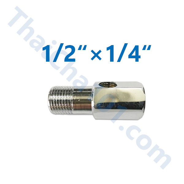 "T-WAY CONNECTOR 1/2"" × 1/4"""